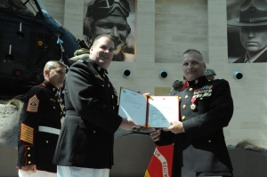 Department of Defense photo—Retirement Ceremmony for Lt. Col. Timothy Maxwell, founder of USMC's Wounded Warrior program, June 2009