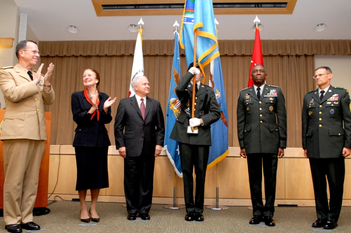 AFRICOM Activation Ceremony, October 1, 2008, The Pentagon