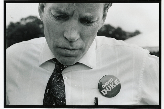 David Duke at a campaign event during his run for Louisiana governor. New Orleans, LA, July 4, 1991