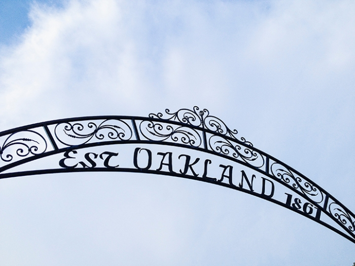 Oakland Cemetery gate, Hampton, VA, May 22, 2014, Erin photo